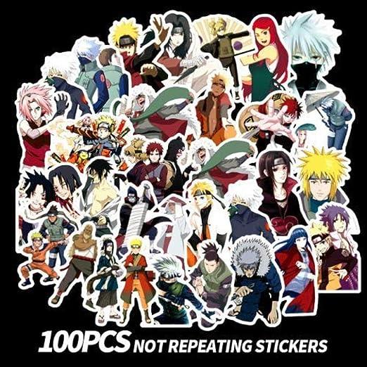 Anime Ninja Sticker Laptop Skateboard Sticker Giocattoli per ...