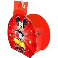 Alcancía Dulcero Mickey Mouse Estrellas Recuerdo Personalizado ideal en tu Evento