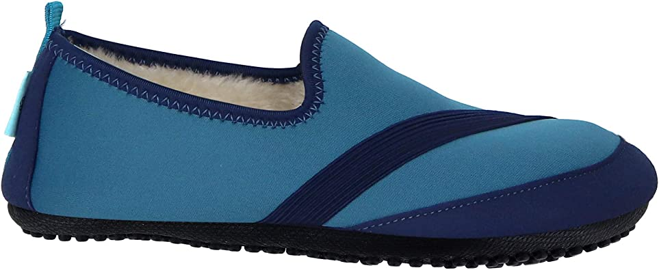 Purple, Small 5.5-6.5 Kozikicks Active Slippers For Women by FitKicks