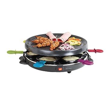 Raclette Parrilla para 6 personas bajo Same 800 W (extra grande ...