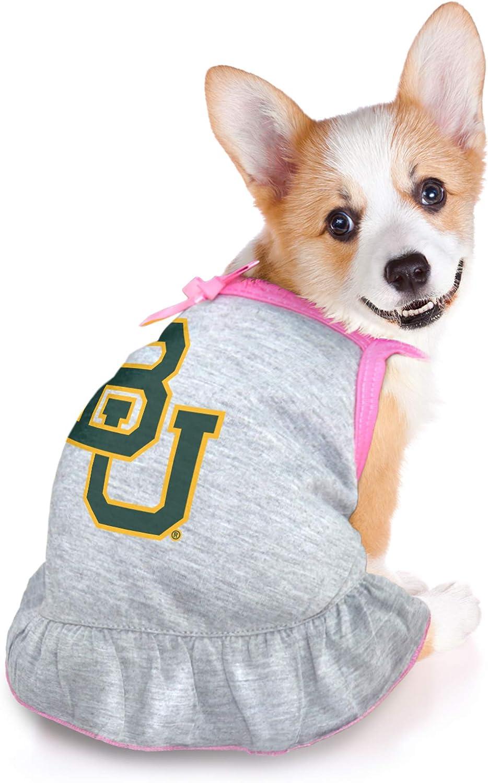 Littlearth NCAA Baylor Bears Pet Dress Extra Small