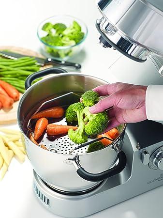 Kenwood KM096 Cooking Chef KM096-Robot de Cocina por inducción, 1500 W, Acero inoxidable, 3 Velocidades, Plata: Amazon.es: Hogar