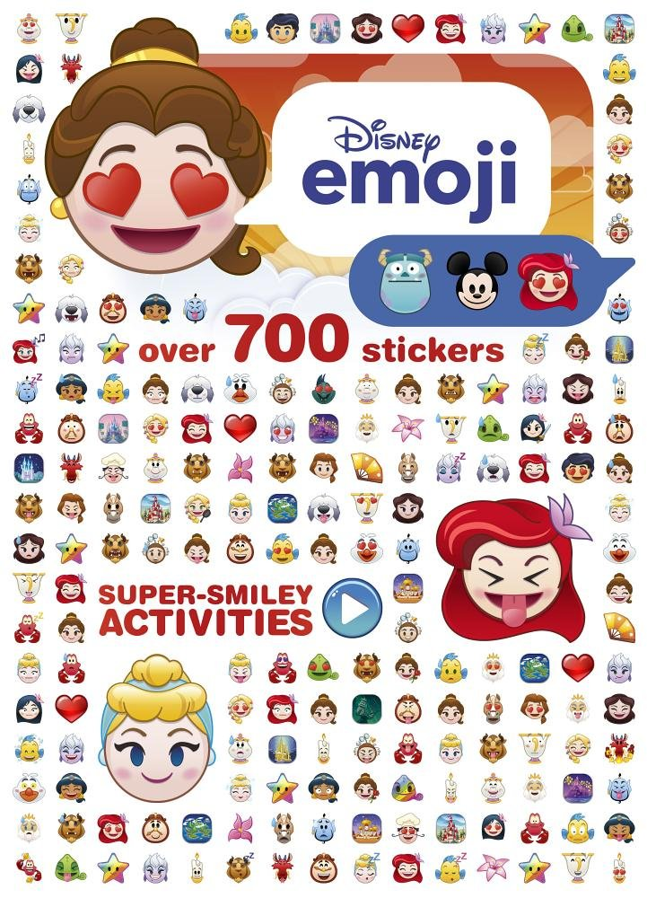 Disney Princess Emoji Super-smiley Activities: Over 700 Stickers