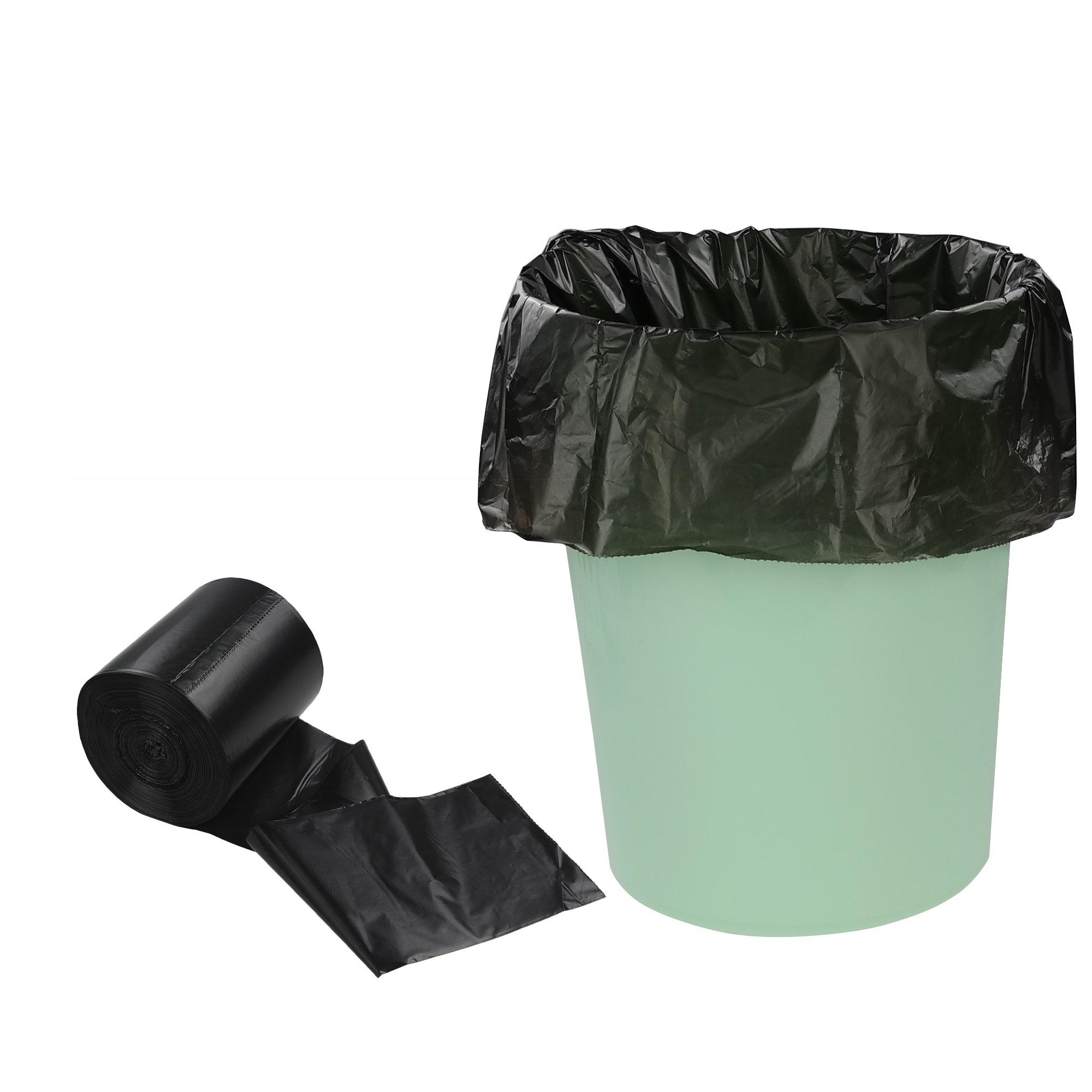 Eagrye 6 Gallon Black Office Trash Bags, 90 Counts