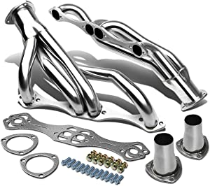 Replacement for 67-81 Chevy Small Block F-Body SBC 265-400 4-1 Design Stainless Steel Clipster Exhaust Header/Manifold