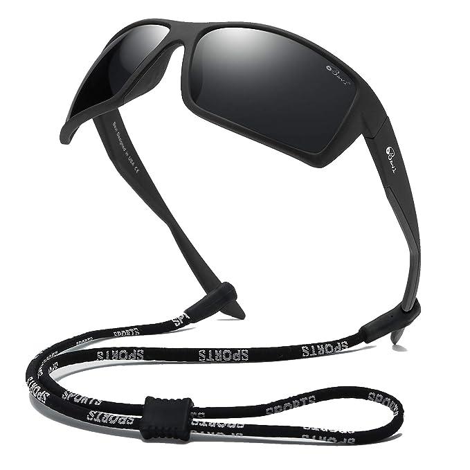 Amazon.com: Bevi - Gafas de sol deportivas polarizadas ...