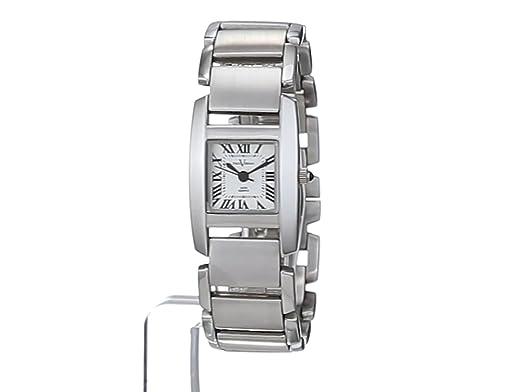 Paul Versan Reloj Análogo clásico para Mujer de Cuarzo con Correa en Acero Inoxidable PV4047B: Amazon.es: Relojes