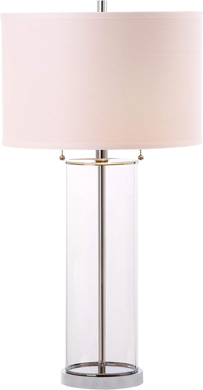 Safavieh Lits4395a Lighting Velma Clear 31 Inch Bulb Included Table Lamp Amazon Com