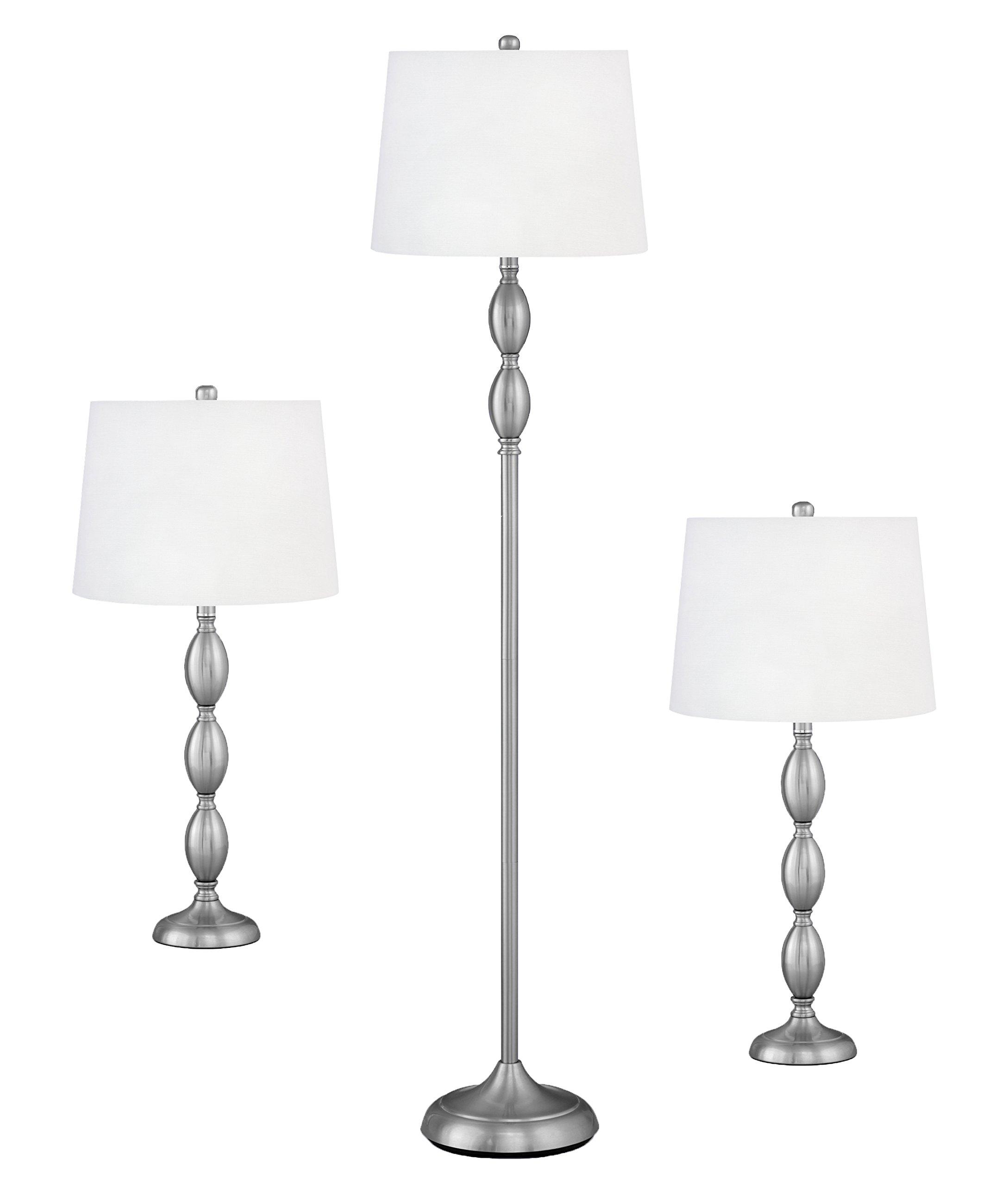 Complements Lighting Verga 3062 inch 150 watt Brushed Steel Coordinated Set by Complements Lighting & Accessories