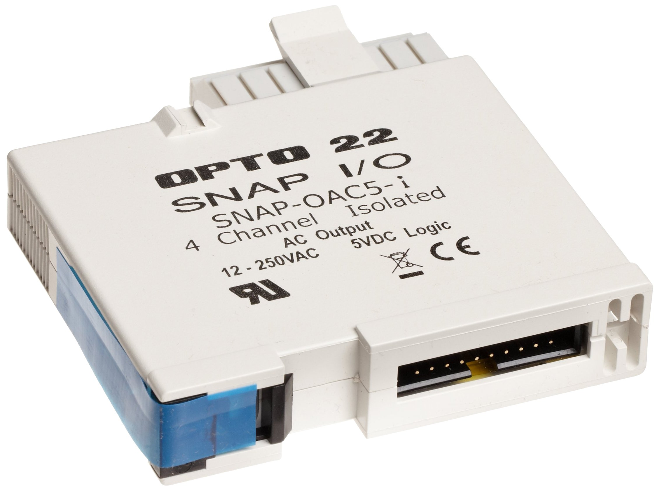 Opto 22 SNAP-OAC5-I - SNAP Digital (Discrete) Output Module, 4 Isolated Channels, 12-250 VAC