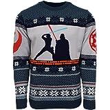 Official Star Wars Luke Vs Darth Christmas Jumper/Ugly Sweater