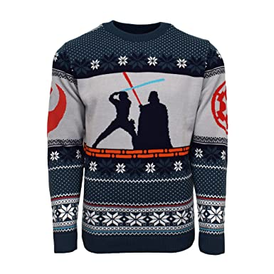 Official Star Wars Stormtrooper Christmas Jumper//Ugly Sweater