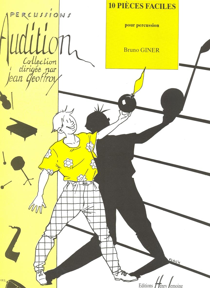 Pièces faciles (10) Partition – 31 août 2004 Bruno Giner Lemoine B000ZGDY48 71026