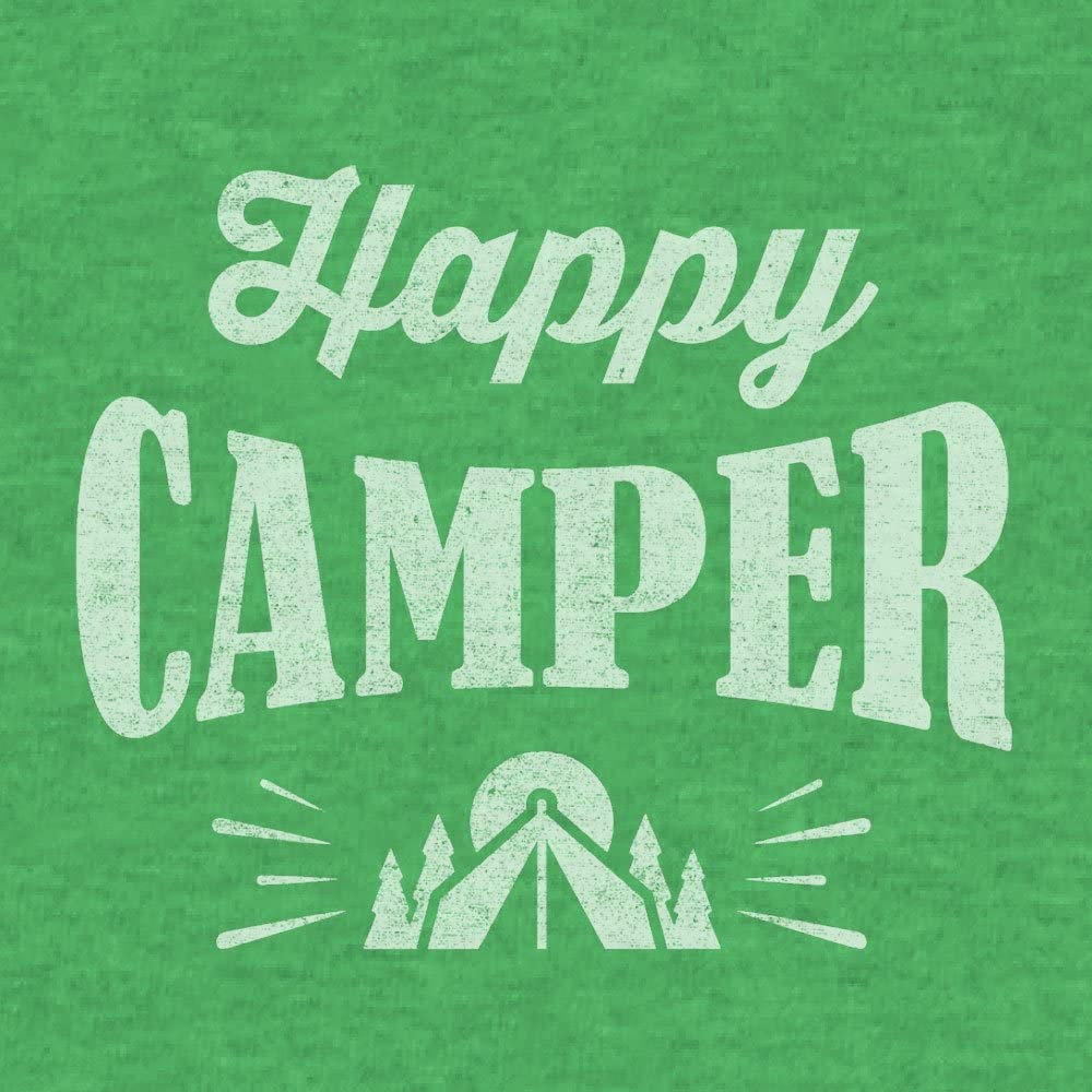 Graphic Camping Shirt Tee Luv Happy Camper T-Shirt