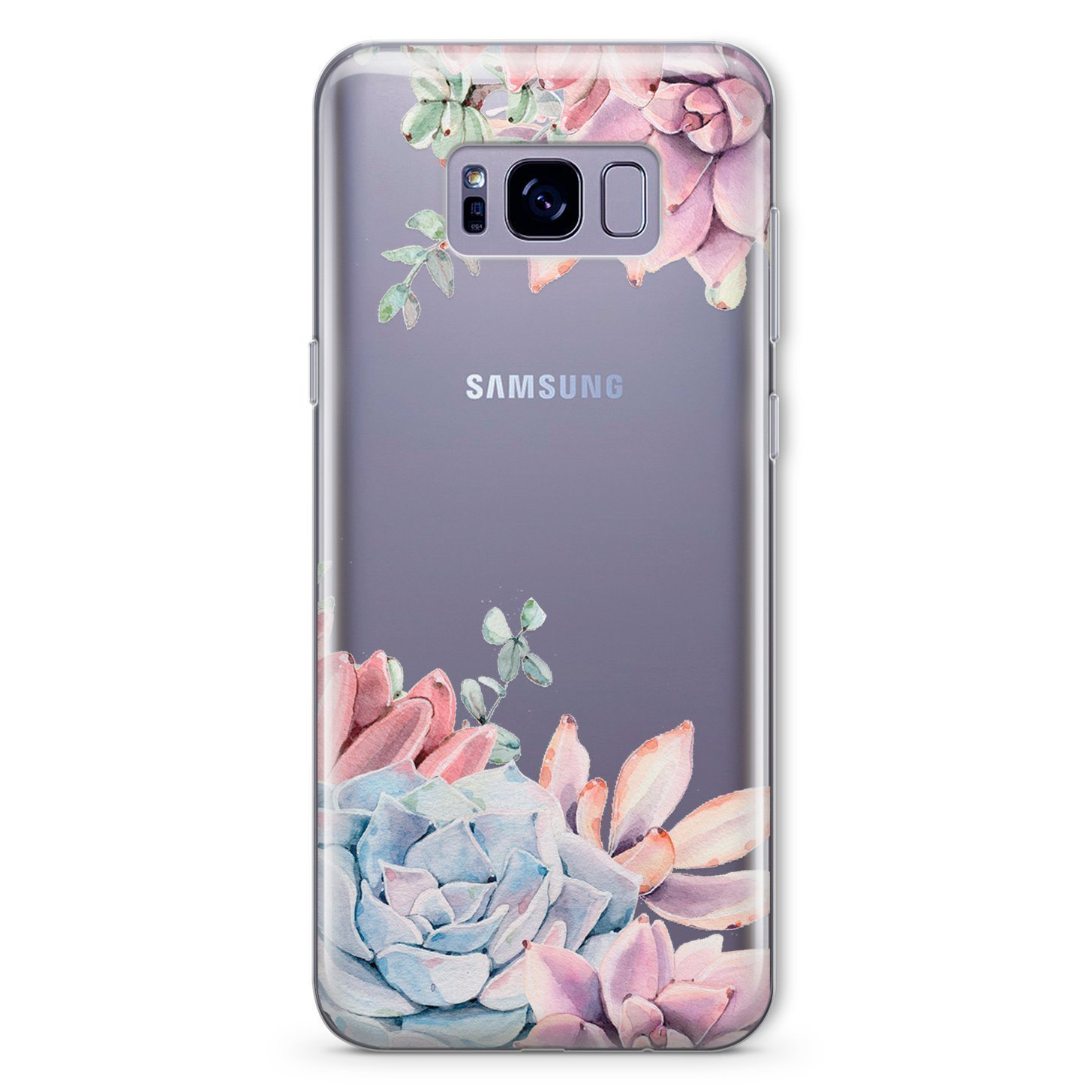 ee17e9c9bb ... Samsung Galaxy S10 S10 Plus S10e S8 S8 Plus S7 S6 S5 Edge Note 4 5 7 8  Custom Personalized Monogrammed Shockproof Samsung Cover Case Succulent  Flowers ...