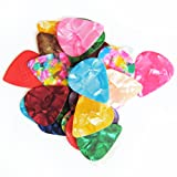 Wingostore Celluloid Guitar Picks 30 Pack(0.46/0.71/0.96mm) Includes Thin, Medium, Heavy & Extra 2pcs Jazz Picks