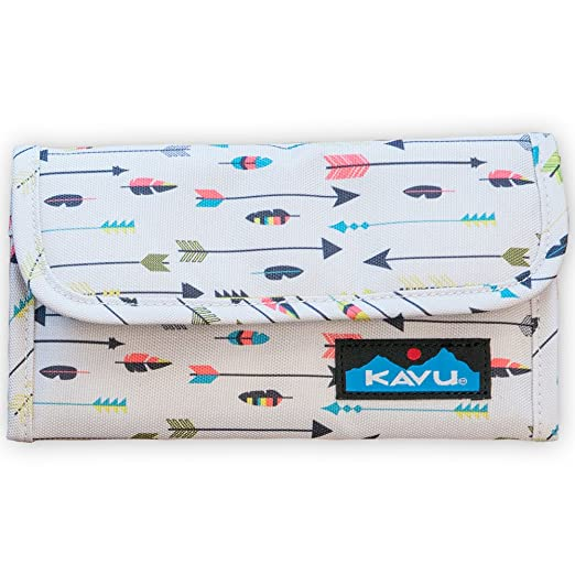 111ea7d499 KAVU Mondo Spender Wallet Tri-Fold Polyester Clutch