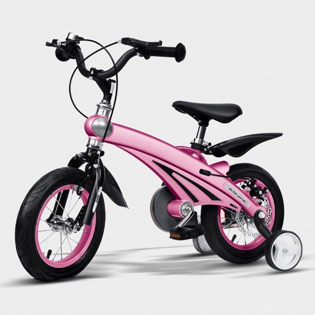 トミカチョウ 子供用自転車 マグネシウム合金のボディーバイク 2歳から11歳の子供に適しています - 12 -/14 子供用自転車/16インチの三輪車 12inch 12inch Pink B07G6ST9G3, 本吉郡:1dd7d82c --- arianechie.dominiotemporario.com