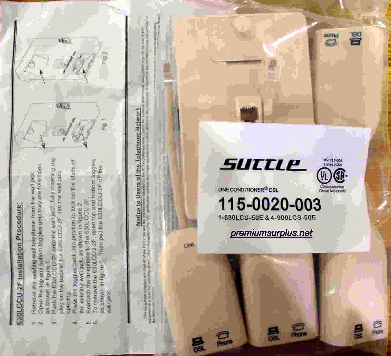 900lccs2f50 900LCCS-2F-50 2-line Inline Adapter Dsl Filer
