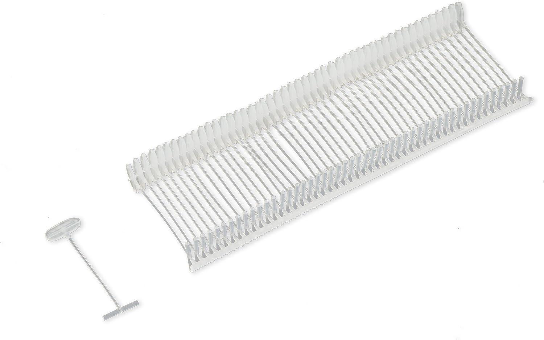 Tag Pins Transparent 1000 Heftf/äden 35 mm f/ür Etikettierpistole Standard Etikettierger/ät