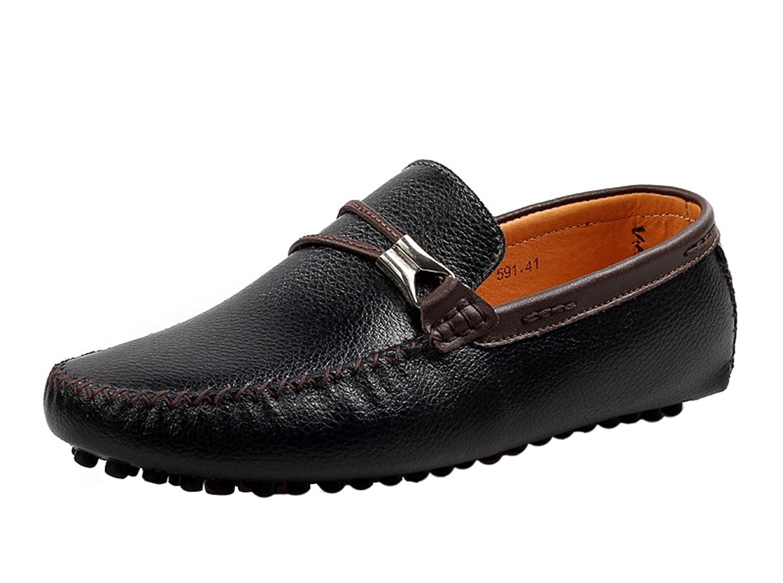 Icegrey Hombre Mocasines Zapatos Clásico De Ante del Mocasín