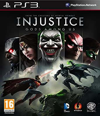 Injustice: Gods Among Us PS3: Amazon co uk: PC & Video Games