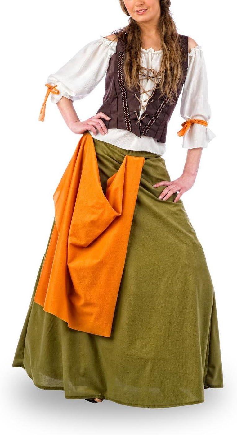 Limit Sport - Disfraz de tabernera medieval Agnes, para adultos ...