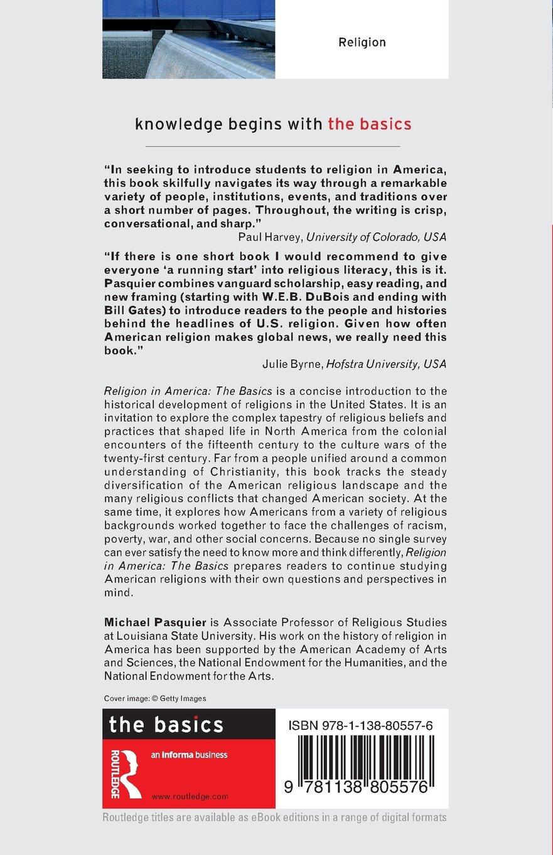 Religion in America: The Basics: Amazon.de: Michael Pasquier ...
