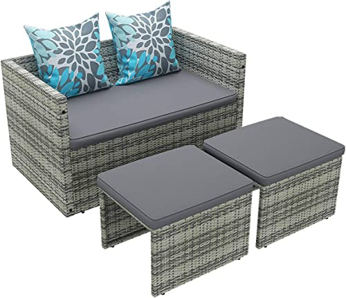 YITAHOME 4 Piece Patio Furniture Set
