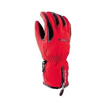 a61e0db1f4c813 Viking Herren Skihandschuhe Soley Atmungsaktiv Ski Handschuhe - Rot ...