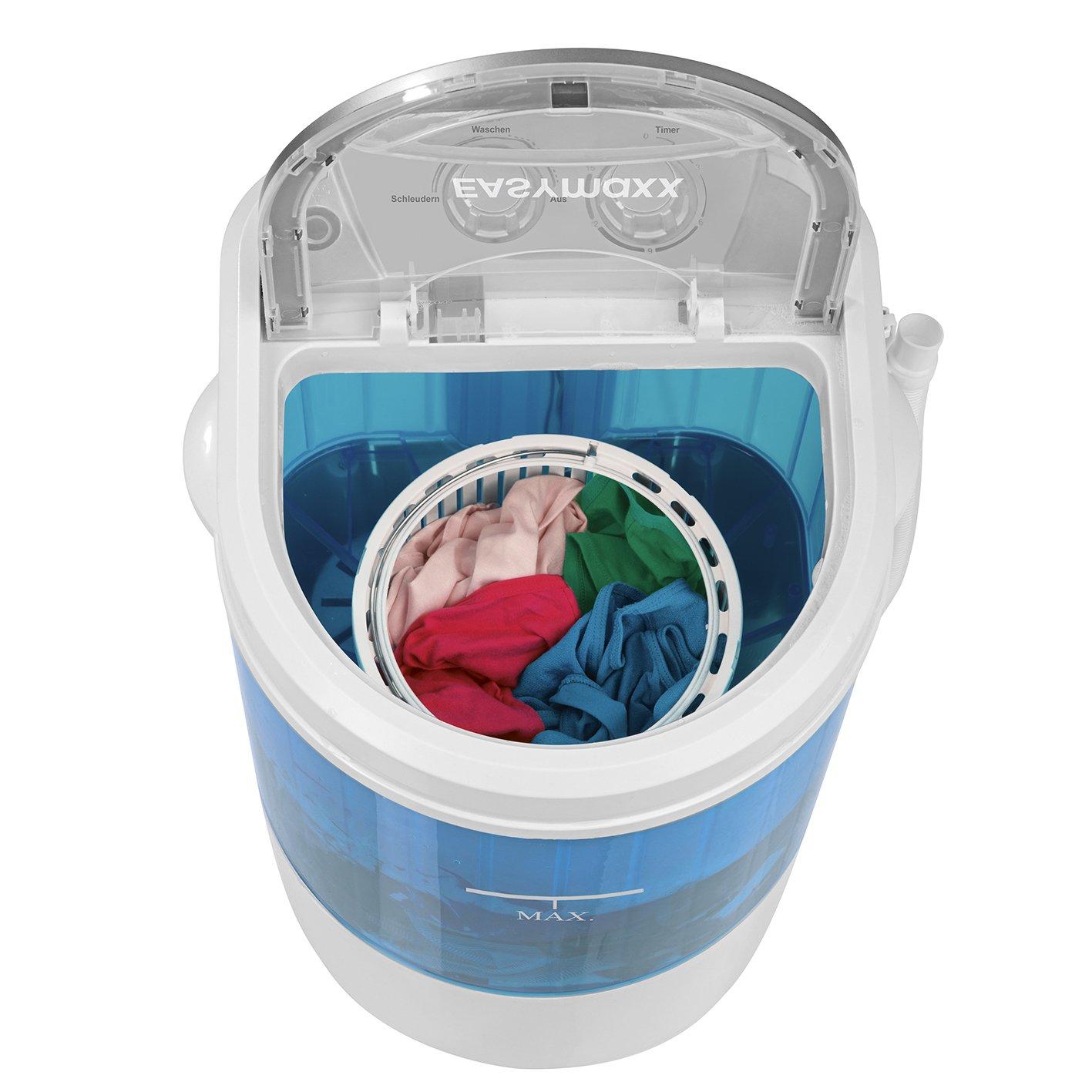 Ersatzbehälter Schleudern Behälter für EASYmaxx Mini-Waschmaschine 260W weiß/blau