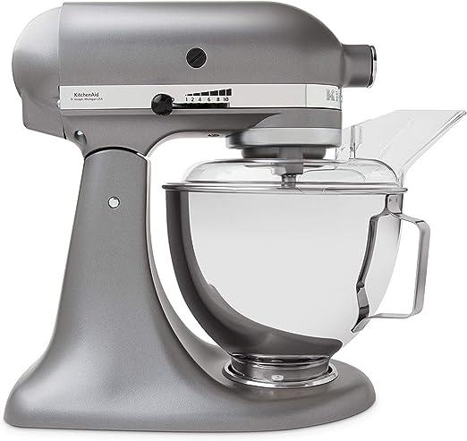 KitchenAid 5 ksm45esl Robot de cocina, Silver: Amazon.es: Hogar