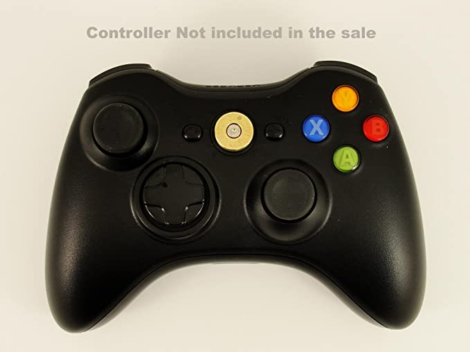 Xbox 360 Replacement Brass Bullet Controller Guide Button - 360 ...