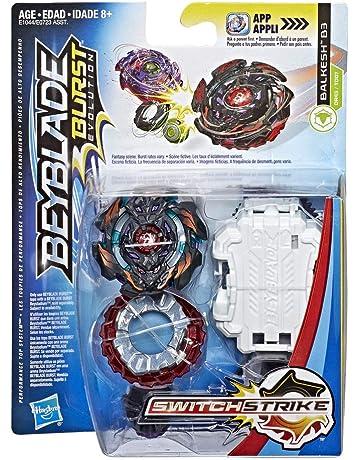 Beyblade - Peonza con Lanzador BALKESH B3 (Hasbro E1044EL2)