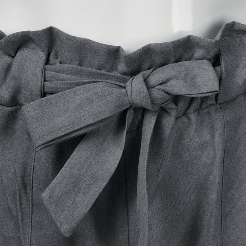 Amazon.com: Pantalones de mujer 2018, cintura alta, cintura ...