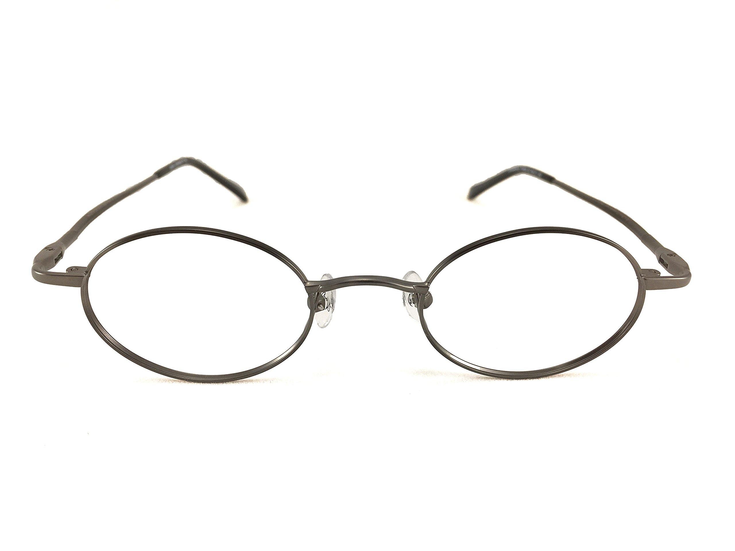 John Lennon Strawberry Fields Eyeglass Frame - Antique Pewter