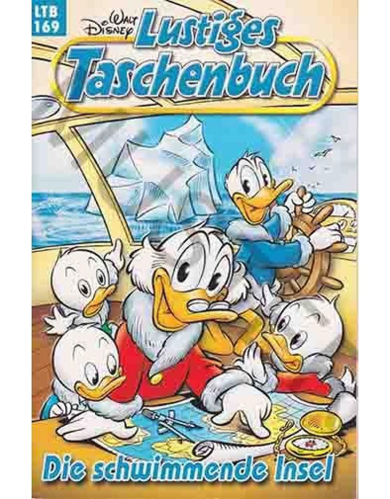 Walt Disney: LTB Lustiges Taschenbuch Band 169: Die schwimmende Insel - Donald Duck und Micky Maus Comics für deine Sammlung Taschenbuch – 2003 Egmont Ehapa Media Bild B01DYDSG1O Comics & Mangas
