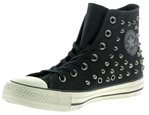 Scarpe Converse Chuch Taylor All Star Distressed Hi 158962C Nero