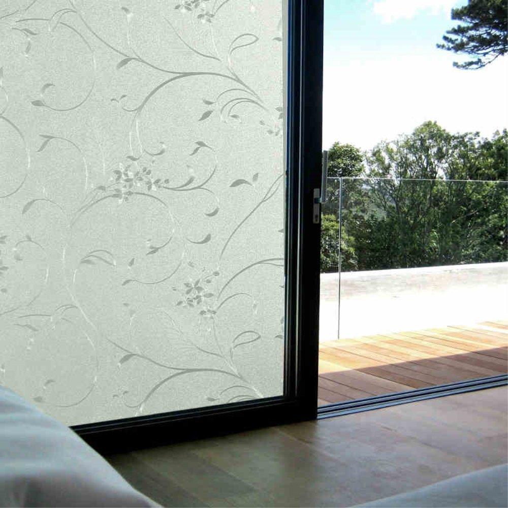 Velimax Fensterfolie Sichtschutzfolie Leimfrei Fenster Aufkleber