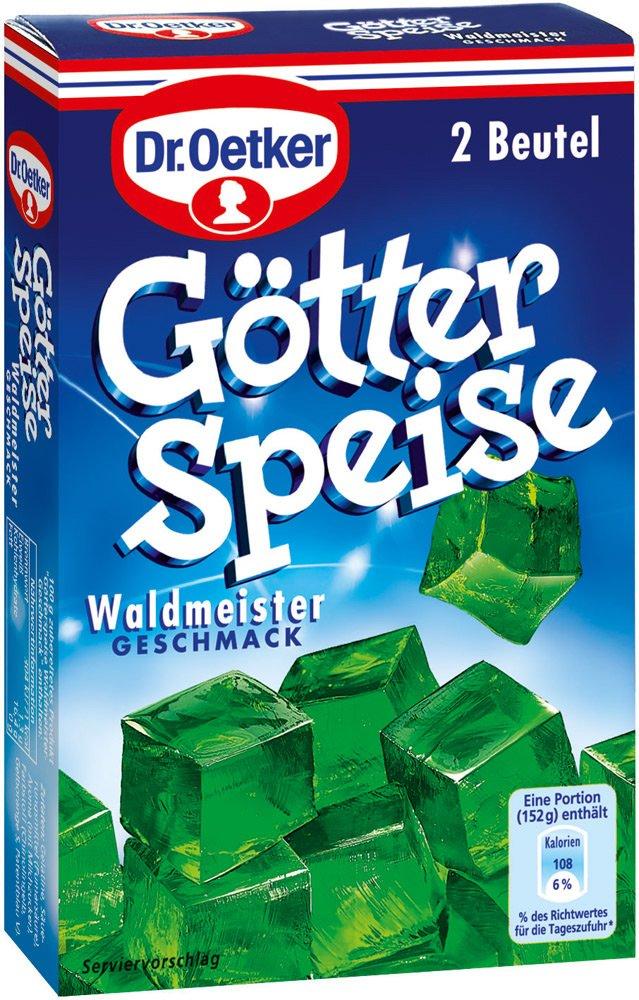 Dr. Oetker GÃtterspeise Waldmeister