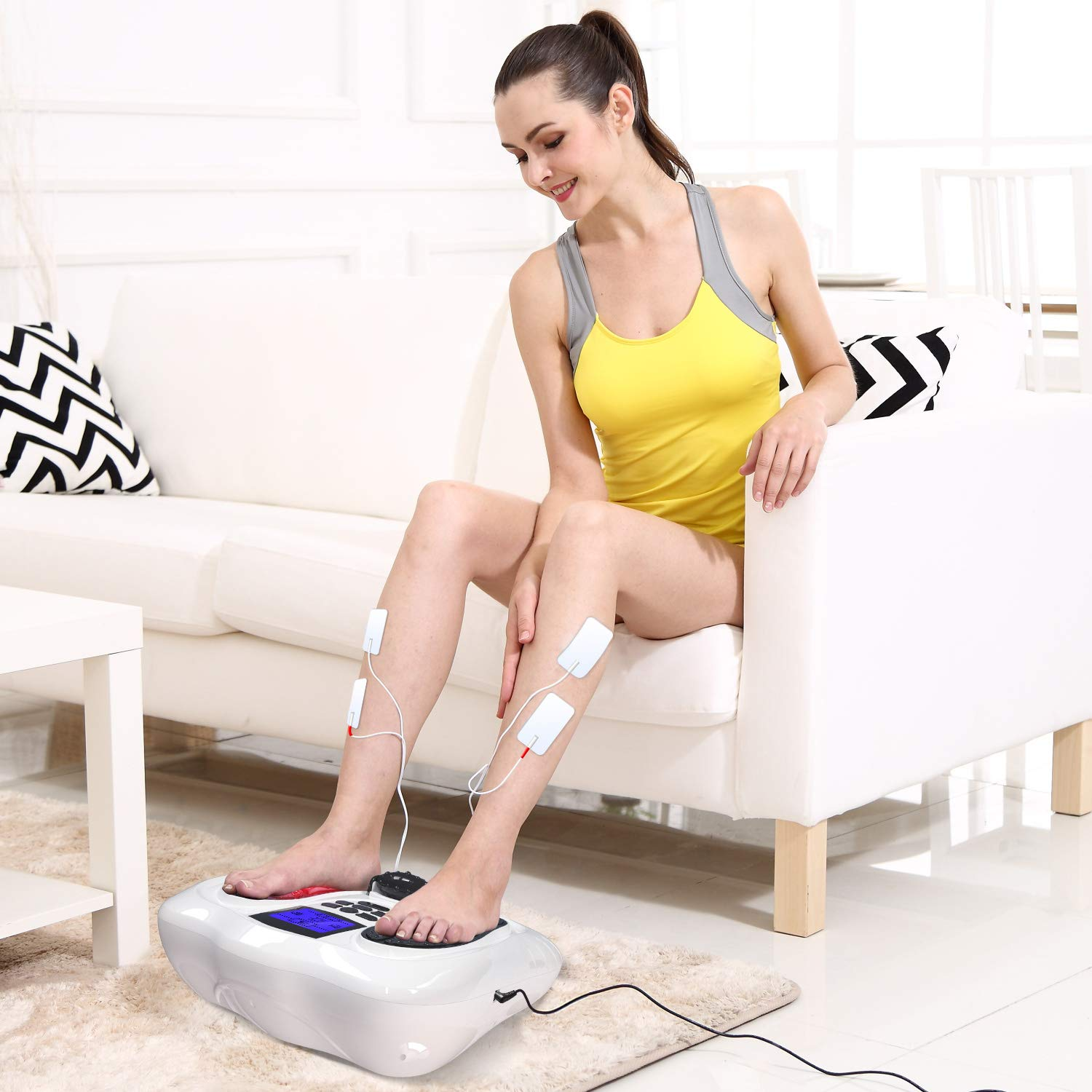 EMS Foot Massager/Foot Circulation Device- Boost Circulation & Relieve Aching Feet and Legs, Strengthen Leg Muscles by OSITO (Image #3)