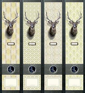 File Art aj442 Diseño Etiquetas - Etiquetas para archivadores: Amazon.es: Oficina y papelería