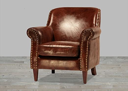 : Club Chair Leather by ERA COLLECTION Club Chair