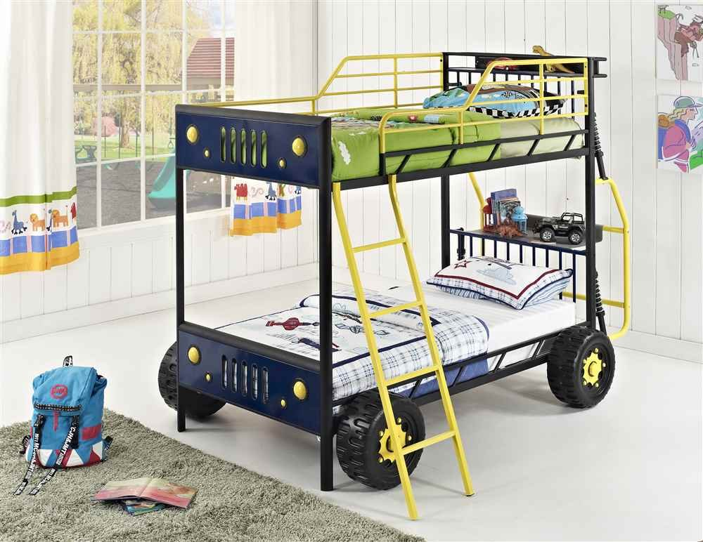 Fantastic Amazon.com: Powell 904-138 Dune Buggy Bunk Bed, Twin: Kitchen & Dining OM42