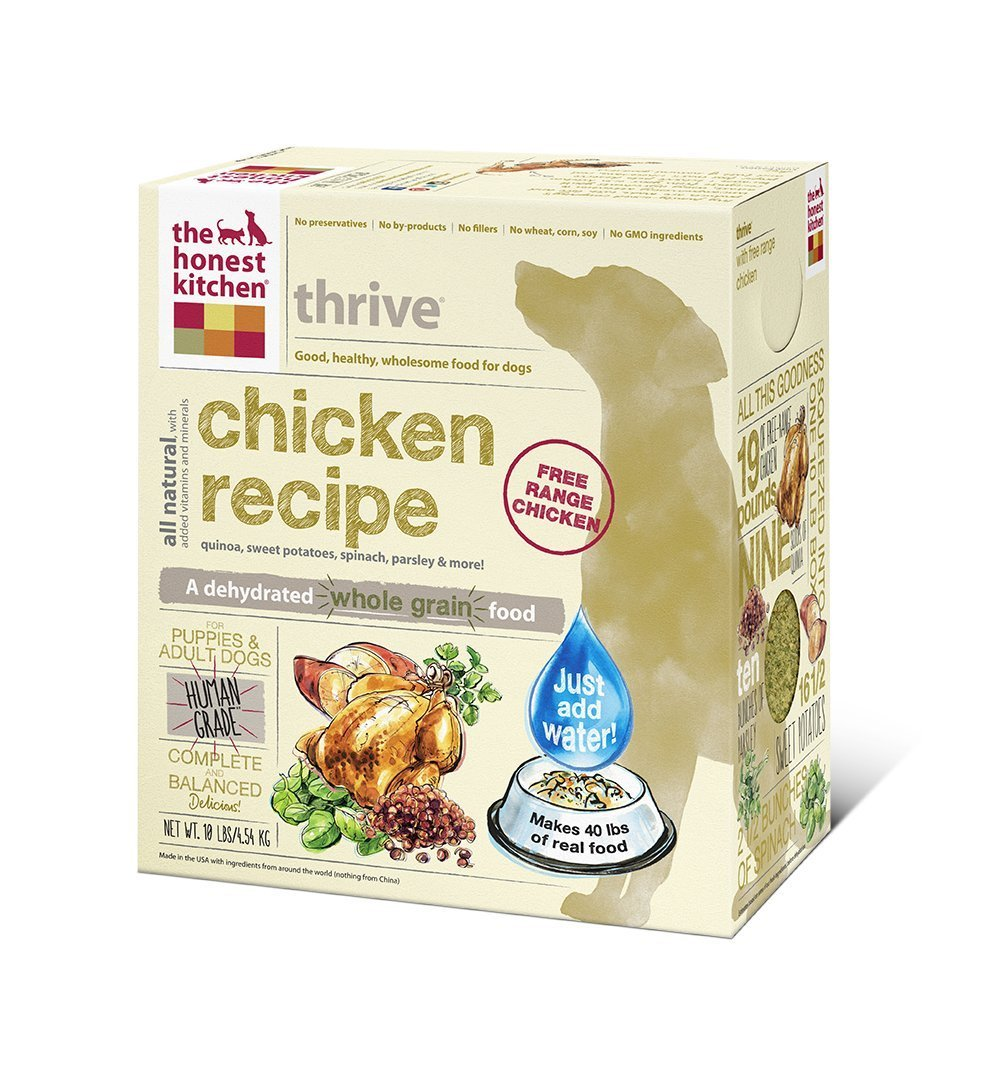 The Honest Kitchen Thrive 10 lb. (Case of 4)