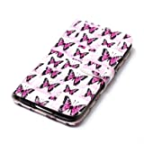 Galaxy S5 Case, Jenny Shop Stand Feather Fashion