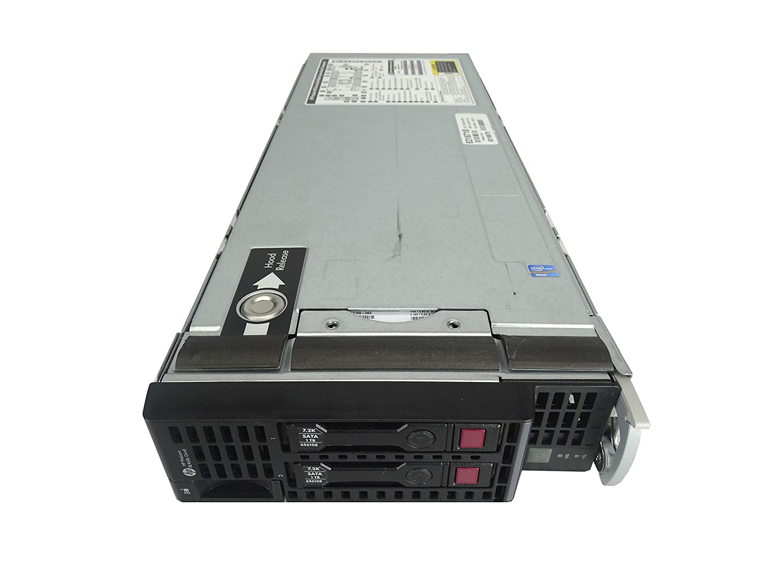 Amazon com: HP c7000 Chassis with 8X BL460c G8 Server (Per Blade: 2X