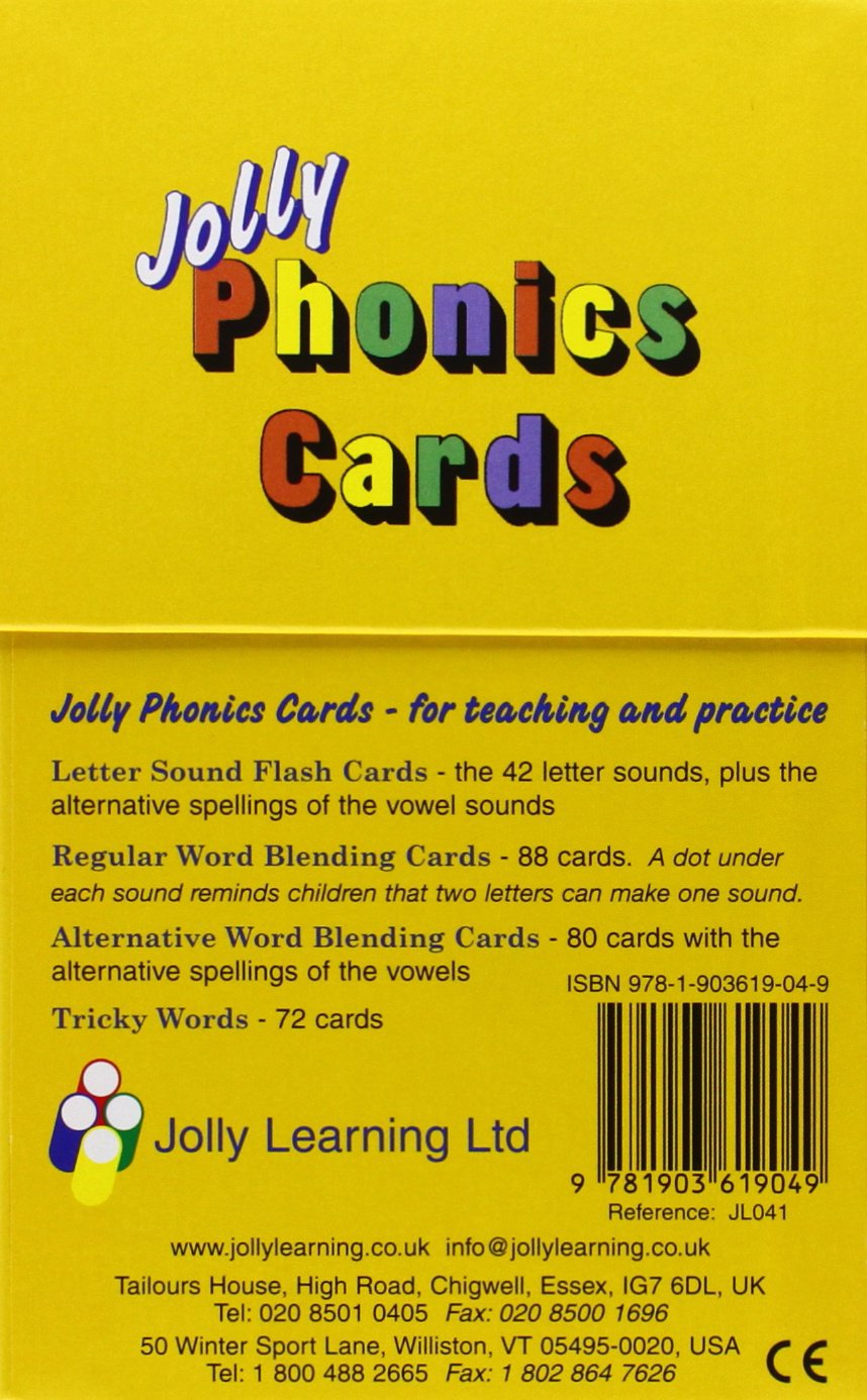 Workbooks jolly phonics workbook 1 free download : Jolly Phonics Cards: In Precursive Letters: Sara Wernham, Sue ...