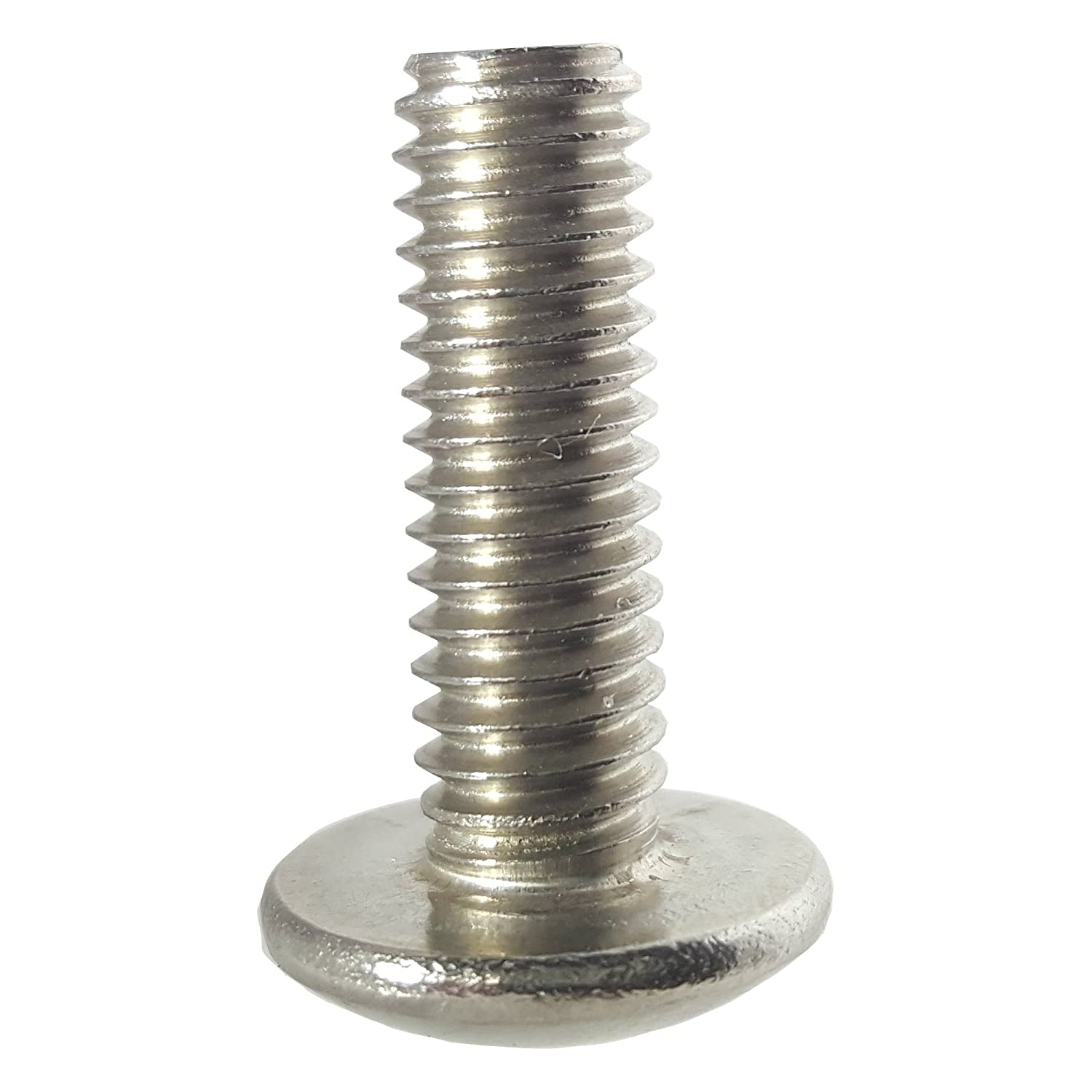 10-32 x 3//8 Truss Head Machine Screws Phillips Drive Stainless Steel 18-8 Full Thread Bright Finish Quantity 100 Pieces By Fastenere Lightning Stainless Machine Thread