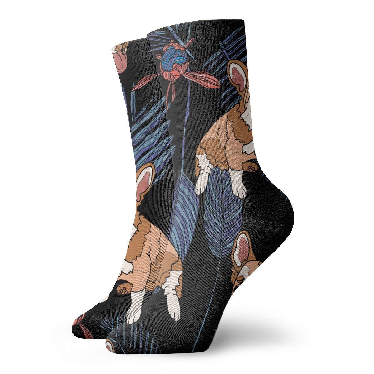 Dogs Unisex Funny Casual Crew Socks Athletic Socks For Boys Girls Kids Teenagers